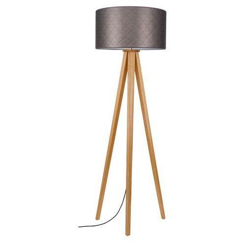 Spot light mirabella 6723174 lampa podłogowa stojąca 1x60w e27 brązowy / dąb