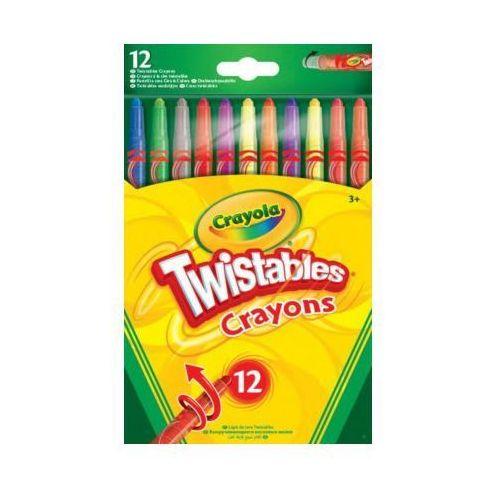 Wykręcane kredki 12 sztuk - darmowa dostawa od 199 zł!!! marki Crayola