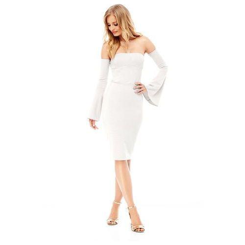 Sukienka frezia w kolorze kremowym, Sugarfree, 34-40