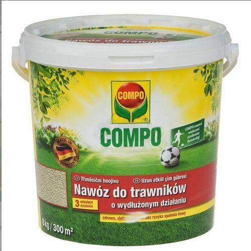 COMPO nawóz długo działający do trawników, 4,5 kg