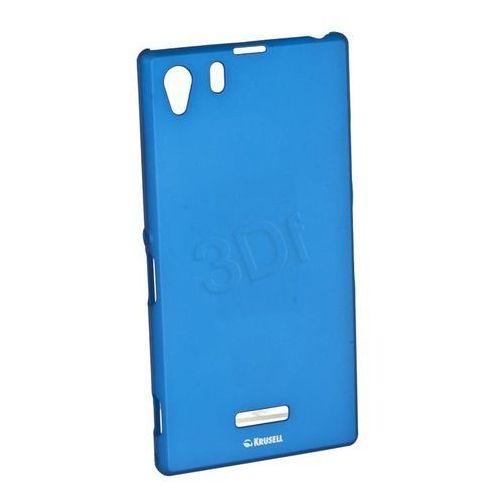 Etui KRUSELL Color Cover do Sony Xperia Z1 Niebieski (7394090898856)