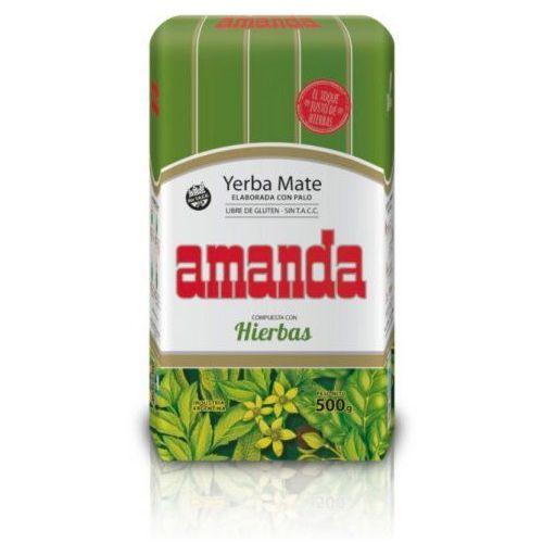 YERBA MATE AMANDA Z ZIOŁAMI 500G, AF11-74607