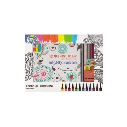 Zestaw do kolorowania 150-13388 - kw trade darmowa dostawa kiosk ruchu marki Fiorello