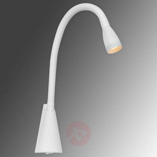 Wyginany kinkiet LED Galen w kolorze białym, 18294/03/31