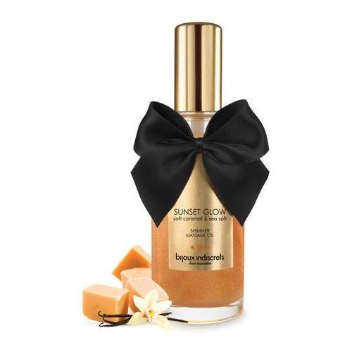 Smaczny olejek do masażu - Bijoux Cosmetiques Massage Oil słodki karmel