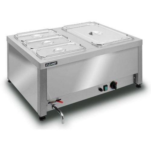 Bemar elektryczny stołowy 2xGN 1/1 200 mm LOZAMET BSW.2GN