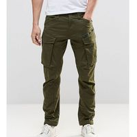 tall rovic zip cargo pants 3d tapered - green, G-star