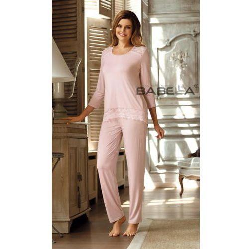 Babella Olimpia Morelowy róż piżama damska (5901769721289)