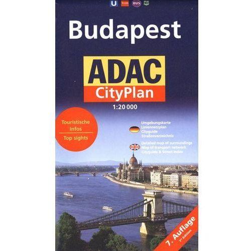 Budapeszt mapa 1:20 000 ADAC, ADAC VERLAG