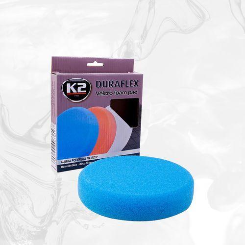DURAFLEX - niebieska gąbka polerska na rzep gąbka mocnościerna, super trwarda - szt (5606534008350)
