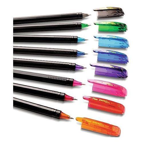 Długopis żelowy czarny bl417a marki Pentel