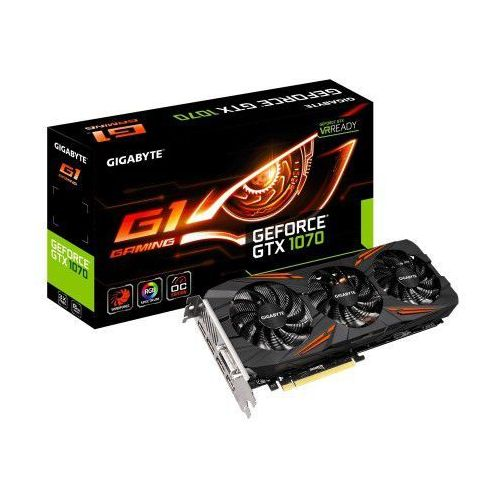 geforce gtx 1070 oc 8gb gddr5 256bit g1 gaming marki Gigabyte