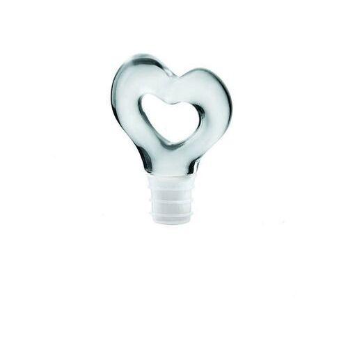 Guzzini - love - zatyczka do butelki, biała