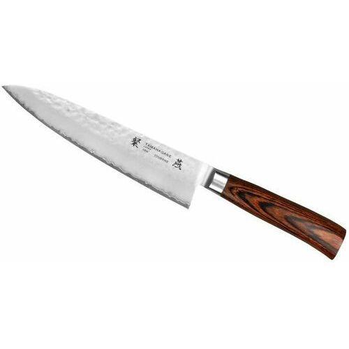 Tamahagane Tsubame Brown Nóż Szefa 21cm (4906496716059)