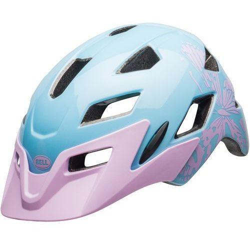 kask rowerowy dziecięcy sidetrack child lilac flutter 47–54 cm marki Bell