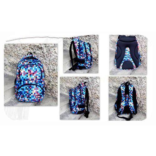 Majewski plecak 4-komorowy bp7 pixelmania blue darmowy odbiór w 20 miastach! (5903235612022)