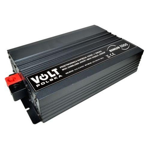 przetwornica Volt Sinus 5000 2500W/5000W 12V DC -> 230V AC - pełny sinus
