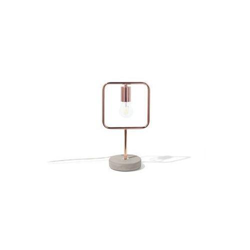 Lampa stołowa miedziana mundo marki Beliani