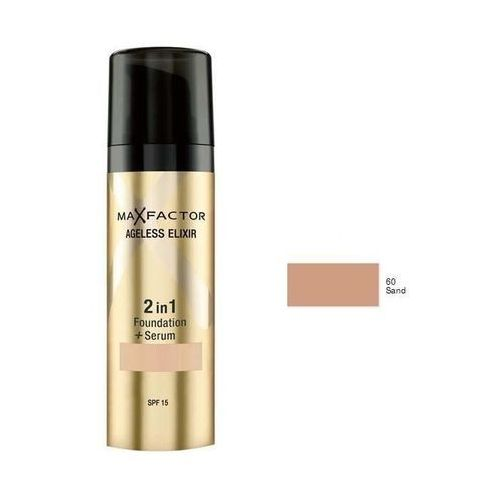 ageless elixir 2in1 | podkład i serum 60 sand 30ml marki Max factor