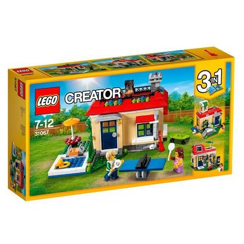 Lego CREATOR Wakacje na basenie modular poolside holiday 31067