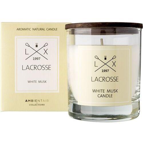 Świeca zapachowa Lacrosse White Musk, ZVV040MBLC