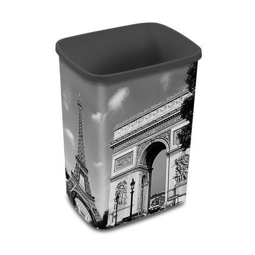 Kosz na śmieci flip bin 25l paryż bez pokryw - 210009 marki Curver
