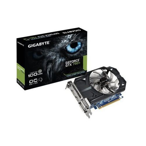 Gigabyte  geforce cuda gtx750ti 1gb ddr5 128bit 2dvi/2hdmi box - darmowa dostawa!!!