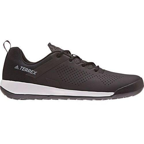 Adidas terrex trail cross curb buty mężczyźni czarny uk 10 | eu 44 2/3 2018 buty rowerowe