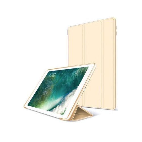 Alogy Etui smart case apple ipad 9.7 2017 / 2018 silikon złote - złoty