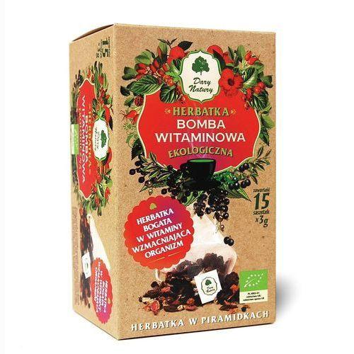 Dary natury - herbatki bio Herbatka witaminowa piramidki bio 15 x 3 g herbata dary natury (5902581618641)