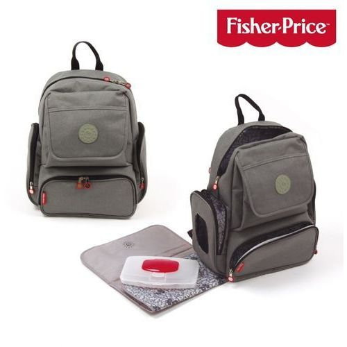Fisher Price Plecak pielęgnacyjny Fisher Price (FP10019) Darmowy odbiór w 21 miastach!, FP10019