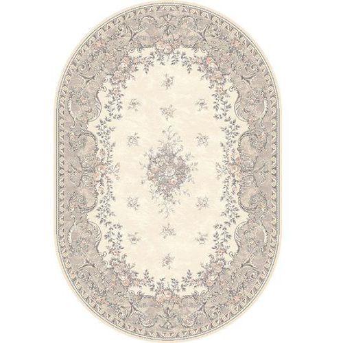 Dywan isfahan dafne alabaster (owal) 160x240 marki Agnella