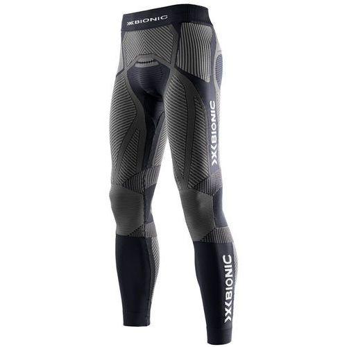 X-Bionic The Trick Spodnie do biegania Mężczyźni szary/czarny XL 2018 Legginsy do biegania