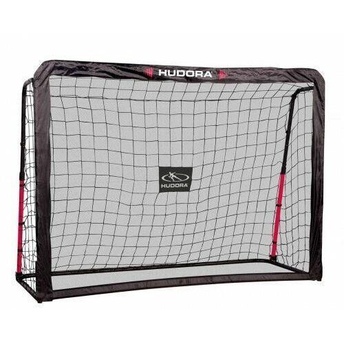 Hudora Bramka piłkarska rebound + mata odbijająca 213 x 153 x 76 cm