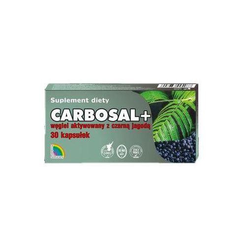 Carbosal + węgiel z czarną jagodą 30 kaps.