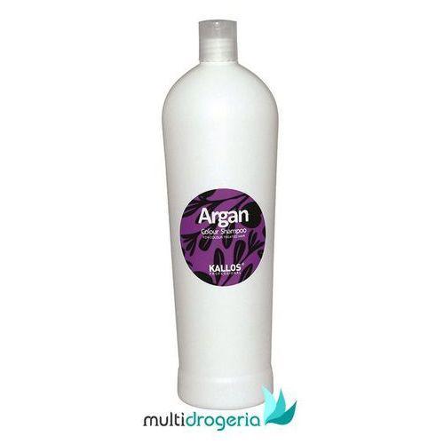 Kallos  argan colour shampoo 1000ml w szampon do włosów farbowanych (5998889505851)