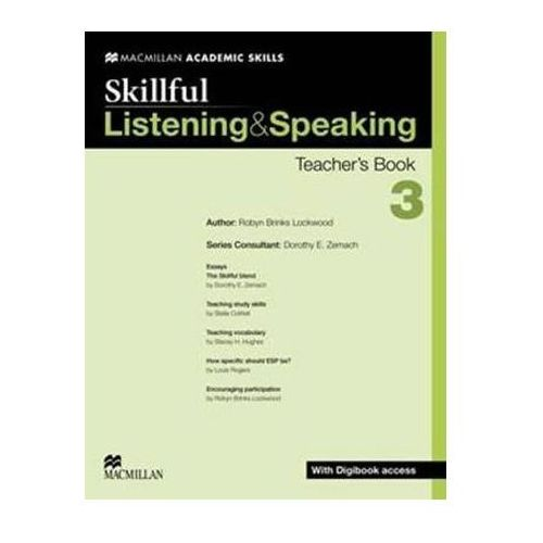 Skillful 3 Listening & Speaking. Książka Nauczyciela + Digibook (2013)