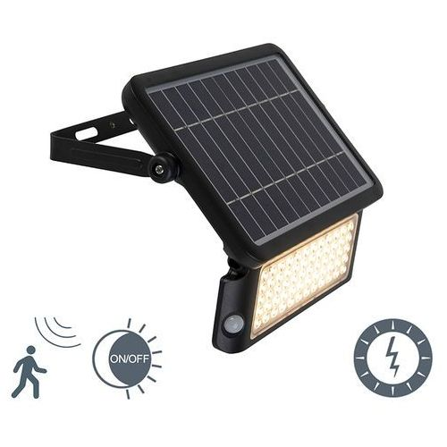 Shada Naświetlacz solarny zawiera led z czujnikiem ruchu i zmierzchu - teho
