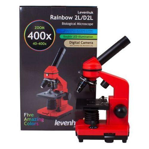 Mikroskop Levenhuk Rainbow 2L Orange\Pomarańcza