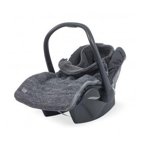 Śpiworek zimowy do fotelika - natural knit antracyt - marki Jollein