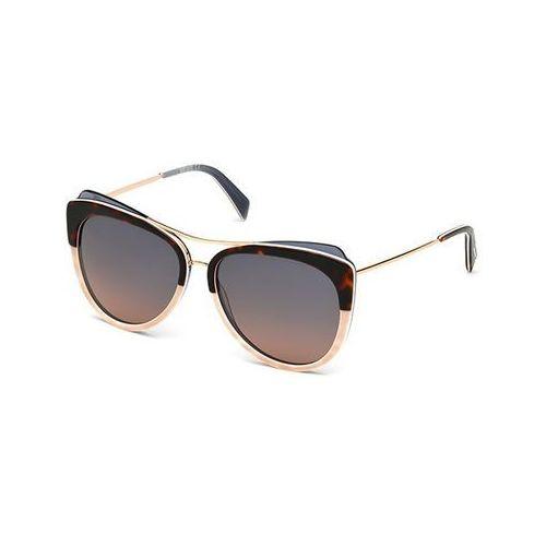 Okulary Słoneczne Just Cavalli JC 721S 56Z, kolor żółty
