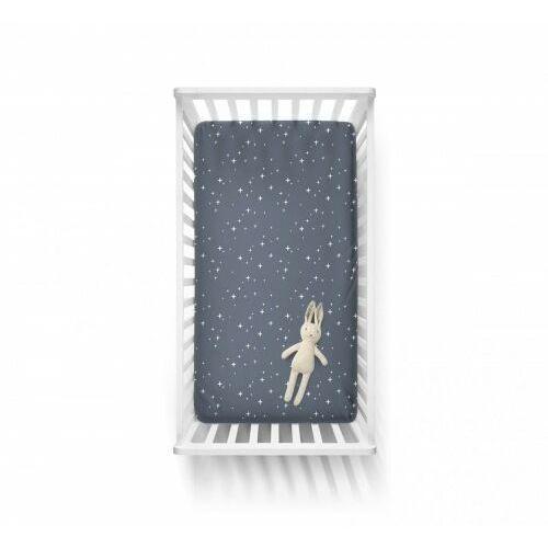 Baby steps - bawełniane prześcieradło - gwiazdy 60x120 cm