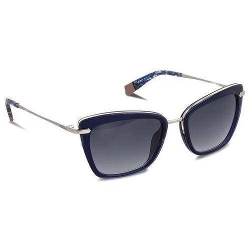 Okulary przeciwsłoneczne FURLA - Elisir 919654 D 143F REM Corteccia d, kolor niebieski
