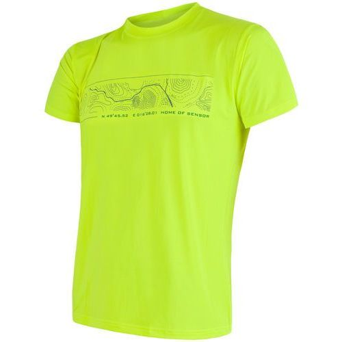 Sensor comęska koszulka coolmax fresh pt gps yellow l (8592837037578)