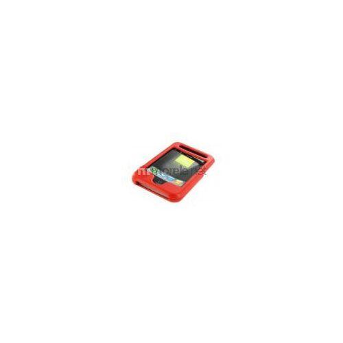iphone etui skórzane, kolor czwerwony (05414) darmowy odbiór w 20 miastach! wyprodukowany przez 4world