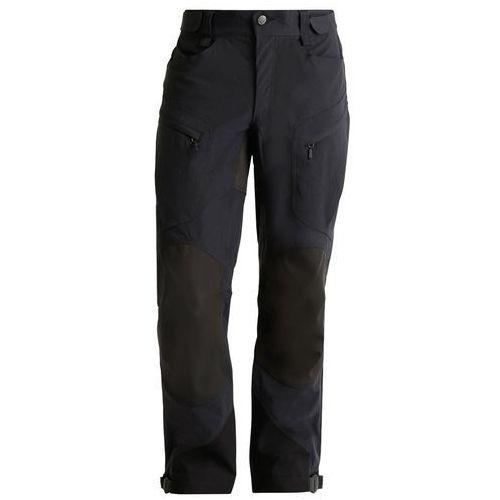 Haglöfs MOUNTAIN Spodnie materiałowe true black solid (7318840788501)