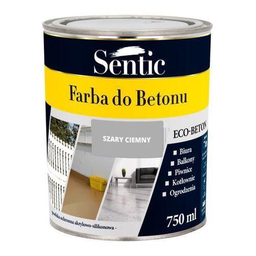 Farba do betonu Sentic ciemnoszara 750 ml, SFB750SZRC