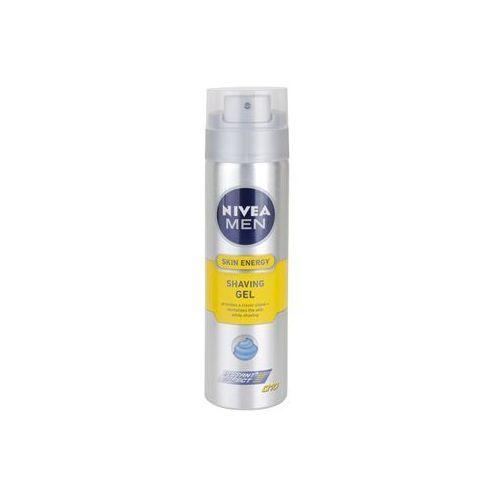 Nivea Men Skin Energy żel do golenia (Active Energy) 200 ml