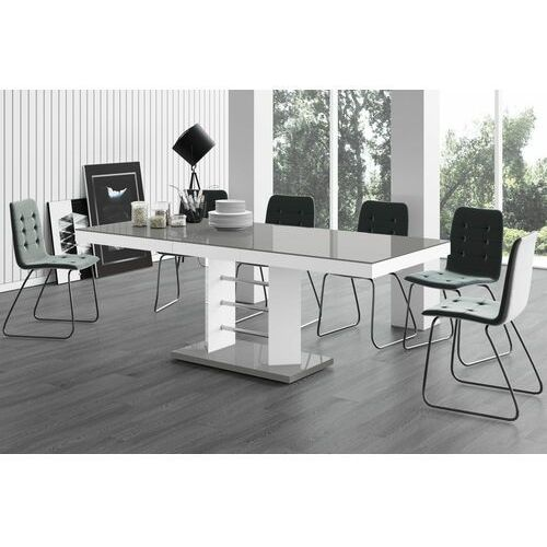 Stół rozkładany LINOSA LUX 160-260 szary, HS-0229