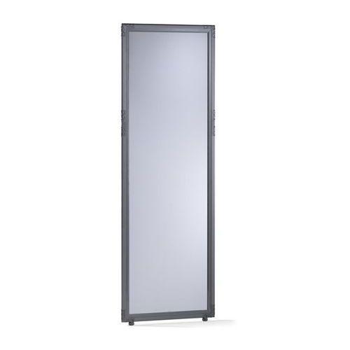 Ścianka działowa, szkło akrylowe, kolory przydymione, wys. x szer. 1950x650 mm, marki Clipper system srl